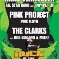 Rock in the Park Festival huisstijl, poster, advertenties